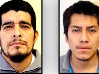 José Rolando Gallegos Cisneros (izq) y Aldo Iván Lince Cruz permanecen arraigados por las autoridades Foto: Especial