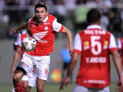Daniel Torres será titular con Santa Fe esta noche ante Zamora en Venezuela Foto: Getty Images