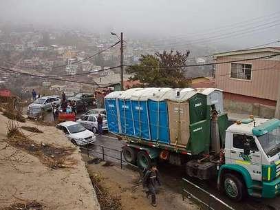 Restricción busca priorizar tránsito de vehículos de emergencia y de ayuda Foto: Agencia Uno