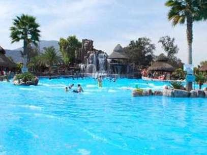 Escápate con tu familia a una experiencia divertida. En la foto, el Balneario de El Tephé, en Ixmiquilpan. Foto: Turismo de Hidalgo