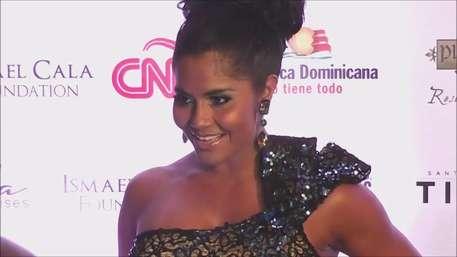 Maripily Rivera y Albert Rodriguez coincidieron en un evento Video:
