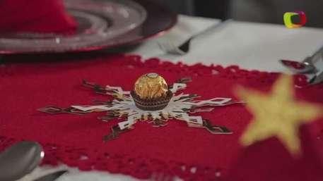 Haz copos de nieve de papel para decorar tu mesa de Navidad Video: