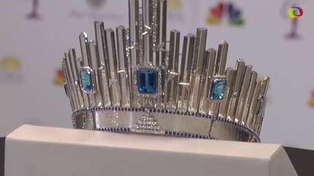 Miss Universo revela nueva corona de 300 mil dólares Video: