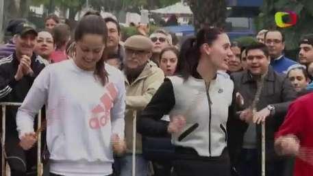 Ivanovic y Jaksic ponen ambiente previo al Abierto de Tenis Monterrey Video: