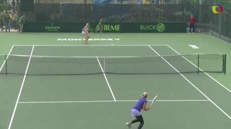 Todo listo para la séptima edición del Abierto de Tenis Monterrey Video:
