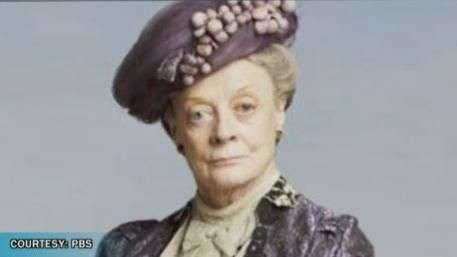 Maggie Smith Departing Downton Abbey! Video:
