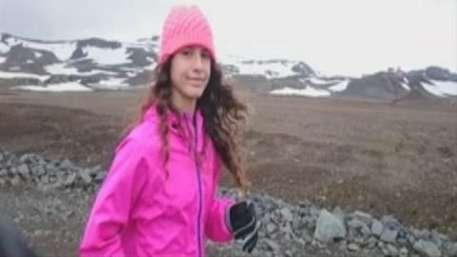 Latina de 12 años bate récord al correr 7 maratones en 5 continentes Video:
