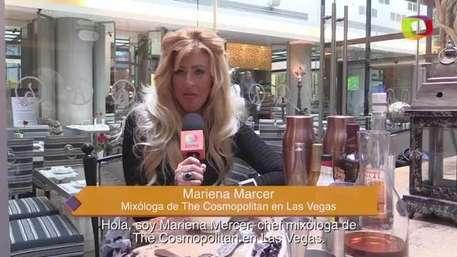 Mariena Mercer, la mixóloga más famosa de Las Vegas Video: