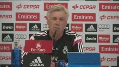 Ancelotti defiende su 'mano floja' Video: