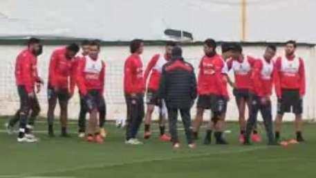 La Roja entrena a doble jornada para Copa América 2015 Video: