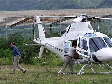 El Gobernador Zeferino Torreblanca ha usado la aeronave en sus giras. Foto: Reforma / Terra Networks México S.A. de C.V.