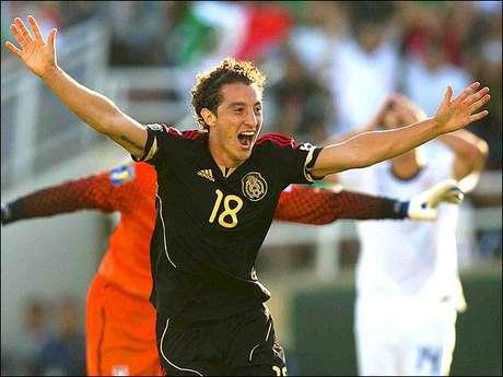 Andrés Guardado, mediocampista de la Selección Mexicana. Foto: Mexsport / Terra Networks México S.A. de C.V.