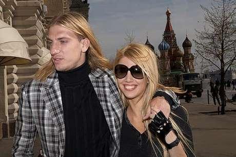 Wanda Nara y Maxi López, en épocas felices Foto: Terra