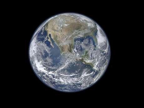 Última imagen de la Tierra tomada por la NASA Foto: NASA