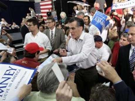 Mitt Romney has gained huge momentum in Florida. Foto: AP
