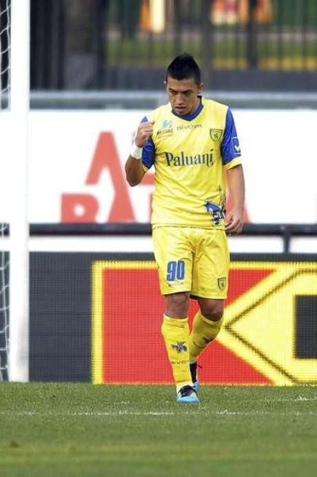 El italiano Chievo decidió no ceder a préstamo al goleador colombiano Fernando Uribe al Atlético Junior, anunció el presidente del conjunto de Barranquilla. Foto: Getty Images