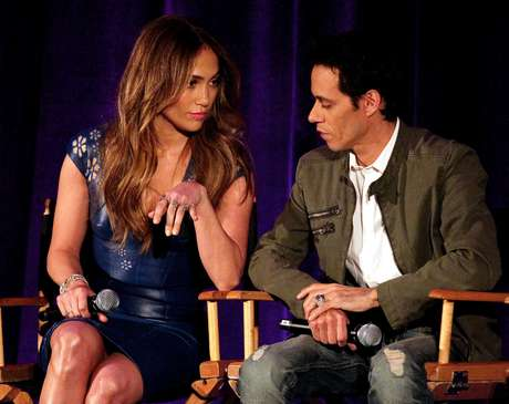 Jennifer Lopez y Marc Anthony Foto: Getty Images