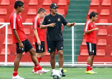 Sergio Almaguer, Director Técnico de la selección Sub-20 de México Foto: Mexsports