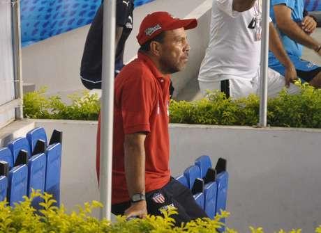 El técnico de Junior de Barranquilla quedó satisfecho con la actitud de su equipo a pesar de la derrota ante Tolima Foto: Terra
