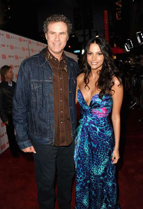 Will Ferrell junto a Génesis Rodriguez en la premiere de 'Casa de mi padre' en Hollywood. Foto: Getty Images