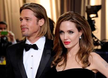 Angelina Jolie y Brad Pitt. Foto: Getty Images