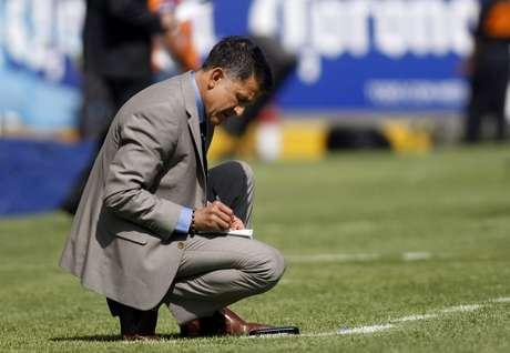 Juan Carlos Osorio, técnico de Nacional. Foto: EFE