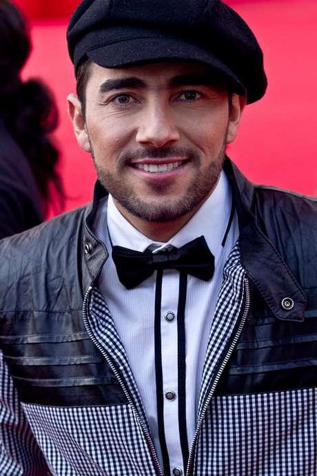 Fabián Mendoza ganó el premio a actor de reparto de telenovela por 'El secretario'. Foto: Felipe Rincón/Terra