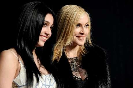 Lourdes y Madonna Foto: Getty Images