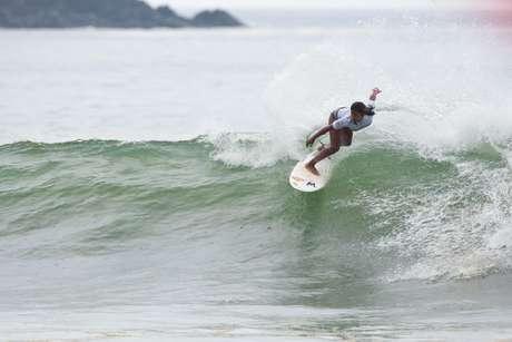 Miluska Tello logró la segunda posición de su heat. Foto: Prensa FENTA