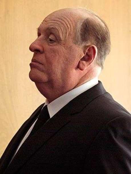 Anthony Hopkins casi irreconocible en su papel como Alfred Hitchcock Foto: Divulgación