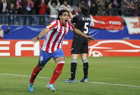 Falcao es la gran figura del Atlético de Madrid Foto: Getty Images