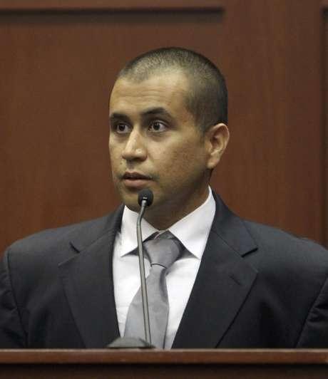 George Zimmerman, acusado por la muerte del joven Trayvon Martin en Florida. Foto: AP