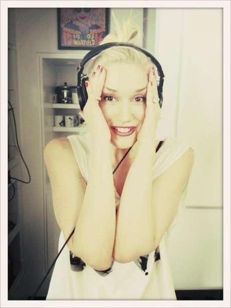 Gwen Stefani de No Doubt grabando su nueva placa Foto: Facebook oficial