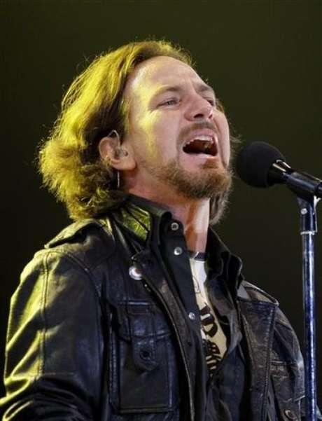 Eddie Vedder de Pearl Jam Foto: Reuters