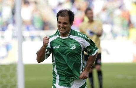 Gustavo Biscayzacú acompañará en ataque a Crisitan Nazarit en el Deportivo Cali Foto: Cortesía