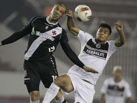 Teófilo durante su último partido con Lanús por Copa Libertadores Foto: EFE