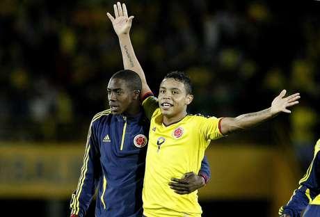 Luis Fernando Muriel, delatero de la Selección Colombia de mayores. Foto: EFE