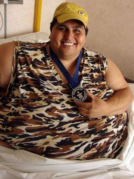 Manuel Uribe Garza llegó a pesar más de media tonelada. Foto: Terra.com