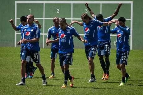 Los directivos del equipo azul y el asesor deportivo, el 'profe' Montoya, definen qué jugadores van a contratar. Foto: John Paz / Terra