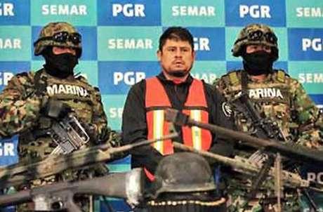 """""""El Lucky"""", detenido en diciembre, calcula que Los Zetas vendían un promedio de 100 kilos de cocaína al mes en Veracruz, 40 de ellos en el puerto. Foto: Reforma"""