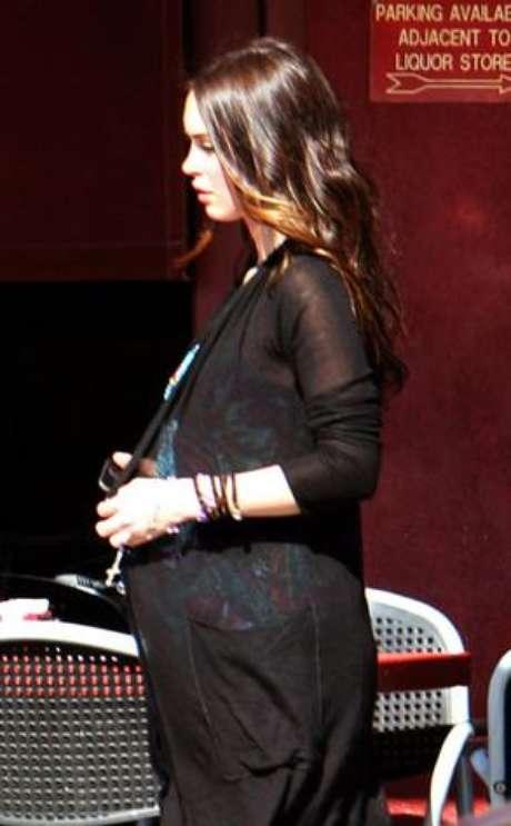 Se dice que Megan Fox pretendía vender exclusiva a revista. Foto: Armando/LRR/LIMELIGHTPICS.US
