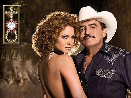 Joan Sebastian y Lucero se dan 'Un LuJo' juntos. Foto: Sitio Oficial