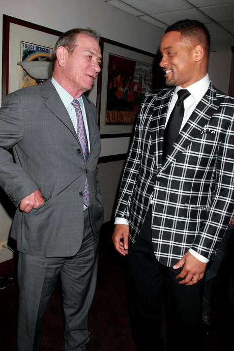 """Tommy Lee Jones y Will Smith en el estreno de la película """"Men in Black 3"""" (""""Hombres de Negro 3"""") en el cine Zeigfeld de Nueva York en una fotografía de archivo del 23 de mayo de 2012.  Foto: Starpix, Dave Allocca / AP"""