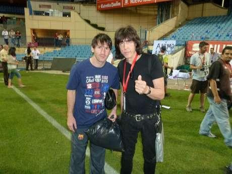 Leo Messi posó para Marky Ramone Foto: Twitter