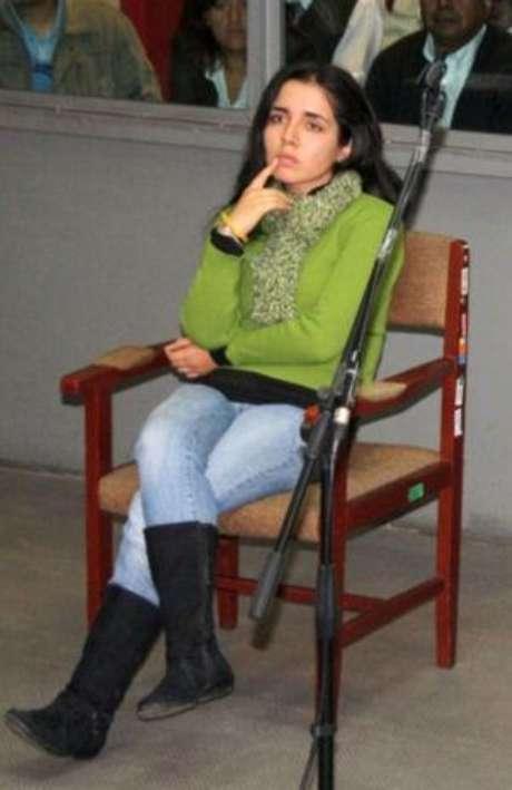 Elizabeth Espino Vásquez es procesada por la muerte de su madre, la abogada Elizabeth Vásquez, asesinada en enero de 2010. Foto: Andina