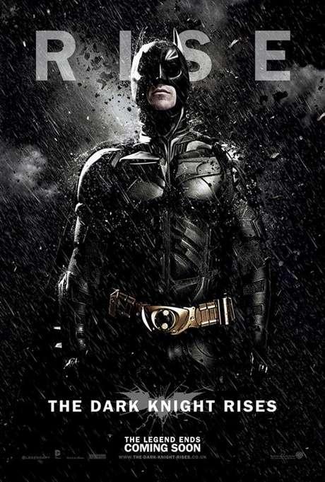 Póster 'The Dark Knight Rises'. Foto: elseptimoarte.net