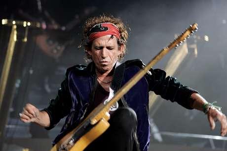 Keith Richards de los Rolling Stones Foto: Getty Images
