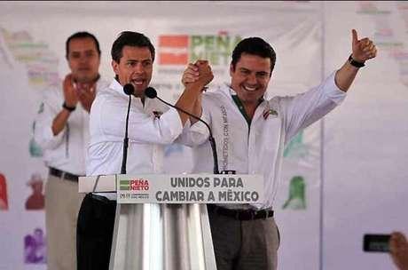 Funcionarios y empresarios beneficiados con obras encabezan las campañas de Enrique Peña Nieto y Aristóteles Sandoval en Jalisco. Foto: Archivo. / Reforma