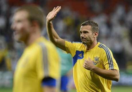 Ukraine's Andriy Shevchenko says goodbye to soccer Foto: Nigel Roddis / Reuters