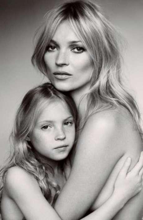 A la hija de Kate Moss le gusta la idea de ser modelo. Foto: Reproducción Vogue